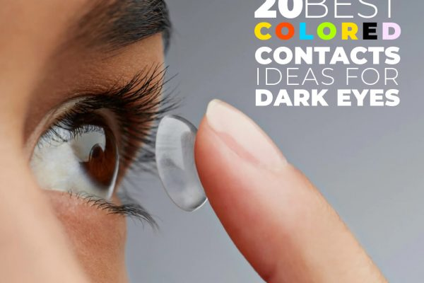Best Colored Contacts Ideas for Dark Eyes